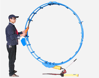 Hydraulic disconnected-type external pipe line-up clamp